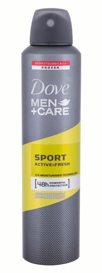 Dove 250ml men + care sport active + fresh, antiperspirant