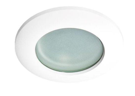 AZZARDO Lampa łazienkowa wpuszczana w sufit Emilio biała AZ0871