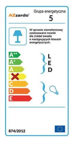 AZZARDO Ester 1 chrome AZ1449 svjetiljka, krom