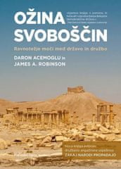 Daron Acemoglu, James A. Robinson: Ožina svoboščin, trda vezava