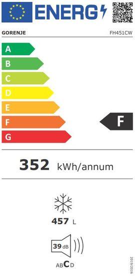 Gorenje škrinja za zamrzavanje FH451CW