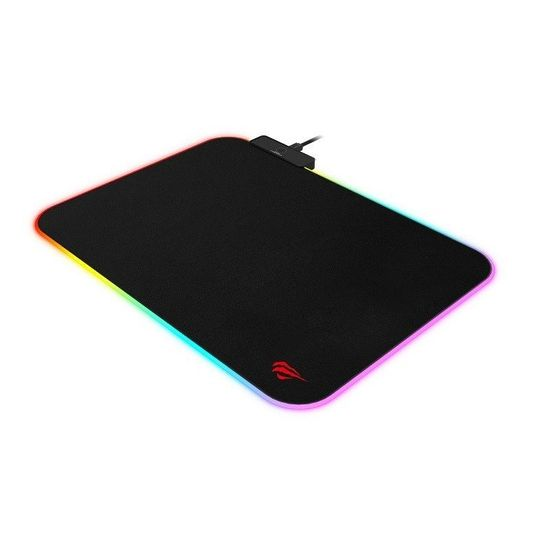 Havit Gamenote MP901 RGB gamer egérpad, 36x26 cm, fekete