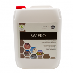Isokor SW EKO - na impregnáciu fasády, kameňa, obkladu, strešnej krytiny - 5000ml