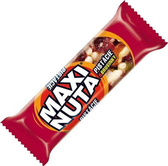 Maxi Nuta tyčinka pistácie brusnice v jogur.poleve 35g (bal. 24ks)