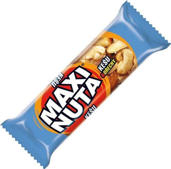 Maxi Nuta  tyčinka med kešu v kakaovej poleve 35g (bal. 24ks)