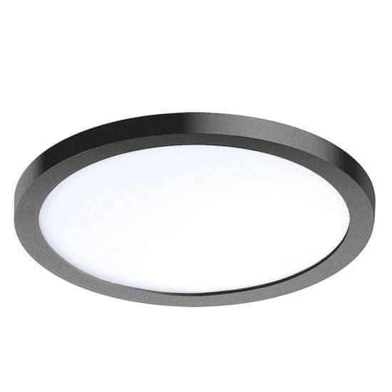 AZZARDO LED Mennyezeti süllyesztett spot lámpatest Slim 15 Round 3000 K AZ2840, 12 W, kerek, fekete