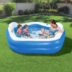 shumee Bestway Relaxační bazének Family Fun 213 x 206 x 69 cm