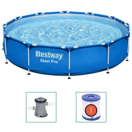 shumee Bestway Bazen Steel Pro 366x76 cm