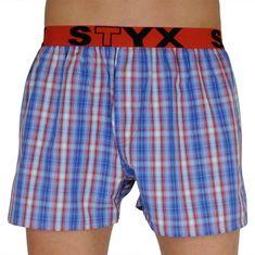 Styx Pánské trenky sportovní guma vícebarevné (B110) - velikost XL