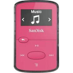 SanDisk Clip Jam MP3 predvajalnik, 8 GB, roza