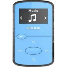 SanDisk Clip Jam MP3 predvajalnik, 8 GB, moder