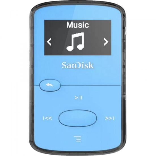 SanDisk Clip Jam MP3 player, 8 GB, plavi