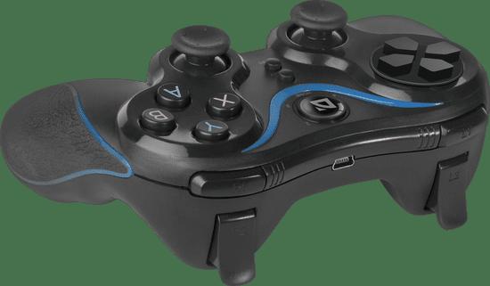 Defender brezžični igralni plošček Blast USB, Bluetooth, Android, Li-Ion, črn