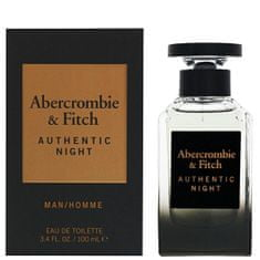 Abercrombie & Fitch Authentic Night Man - EDT 30 ml