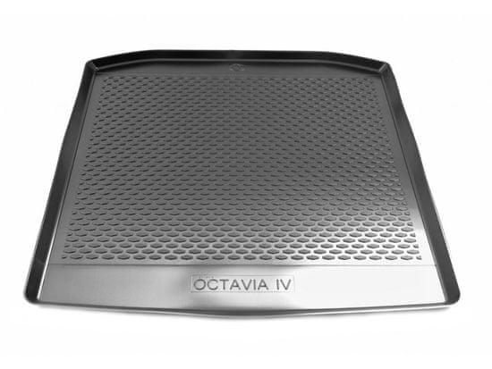 Gumárny Zubří Plastová vana do kufru Škoda OCTAVIA IV Liftback 2020-