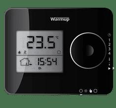 WARMUP TEMPO programski termostat ČRNI