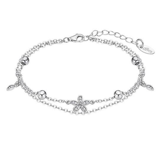 Lotus Silver Igriva srebrna zapestnica z obeski LP3178-2 / 1