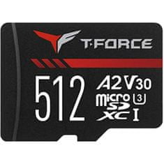 TeamGroup Gaming A2 MicroSDXC spominska kartica, 512 GB