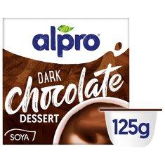 Alpro Sójový dezert s príchuťou tmavej čokolády 125 g
