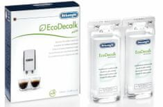 De'Longhi Dekalcifikační prostředek pro kávovary EcoDecalk mini - tekutý roztok 2x100ml