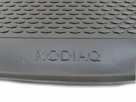 Gumárny Zubří Plastová vana do kufru Škoda KODIAQ 5 míst 2017-