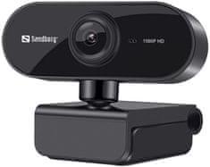 Sandberg USB Webcam Flex, čierna (133-97)