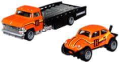 Hot Wheels zestaw Team Transport 31 - Volkswagen samochód transportowy i wyścigowy