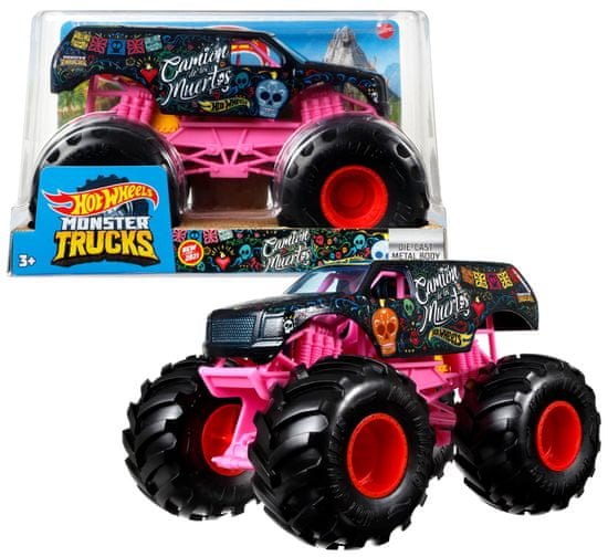 Hot Wheels Monster Trucks Velik Truck Camion De Los Muertos