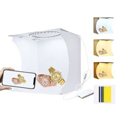 Puluz Studio foto box z LED osvetlitvijo 23 cm