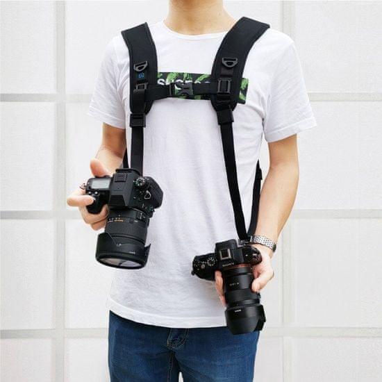 Puluz Double Shoulder trak za kamere