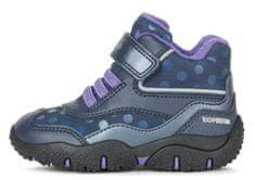Geox B04H1A 054FU C4269 Baltic dekliški gležnjarji, temno modri, 22