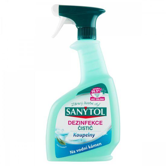 SANYTOL Dezinfekce čistič Koupelna 500 ml