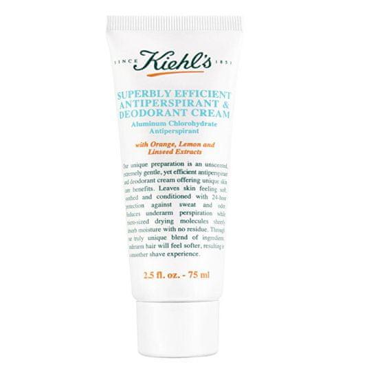 Kiehl´s Nescenzirana kremna antiperspirantna (Superbly Efficient Antiperspirant and Deodorant Cream) krema z