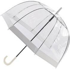 Blooming Brollies Dámský průhledný holový deštník EDBCWH