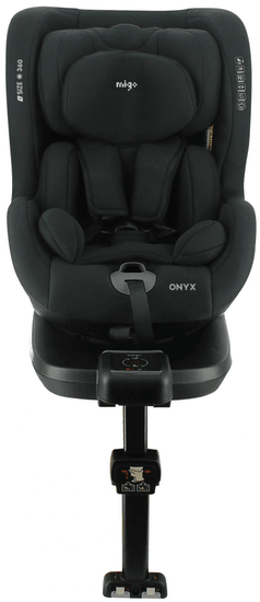 MIGO Autosedačka ONYX I-SIZE 360° (40 -105 cm) 2021 BLACK