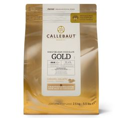 Kvalitní belgická čokoláda 2,5kg 30% Gold caramel