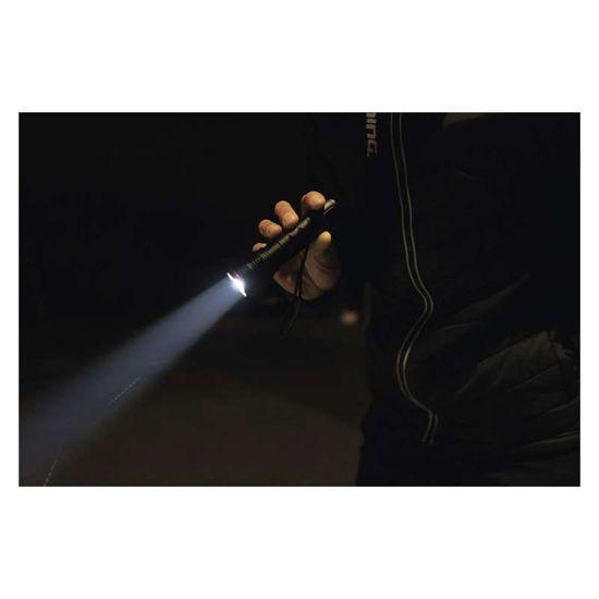 Emos LED svítilna kovová, 120 lm, 2× AAA, FOKUS