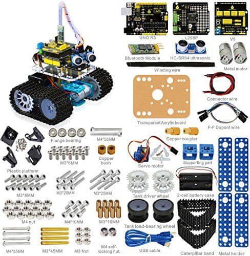 Keyestudio Keyes Arduino mini tank robot