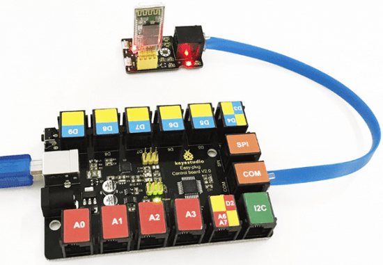 Keyestudio Keyes Arduino deska bluetooth wifi RJ11