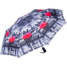 Blooming Brollies Dámský skládací plně automatický deštník SKCFNYBW