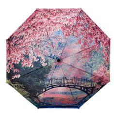 Blooming Brollies Dámsky skladací plne automatický dáždnik GFFCB