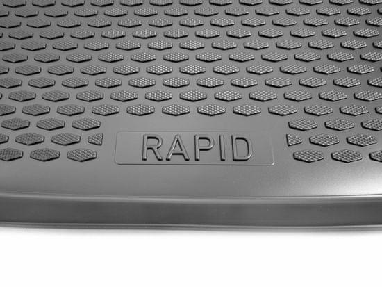 Gumárny Zubří Plastová vana do kufru Škoda RAPID Spaceback 2013-
