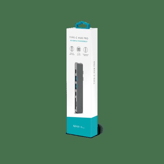 EPICO USB Type-C PRO Hub Multi-Port - space grey/black 9915111900011