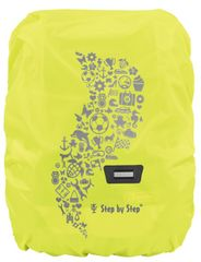 Step by Step Kabanica za školsku torbu ili ruksak, žuta