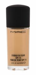 MAC 30ml studio fix fluid spf15, nc40, makeup