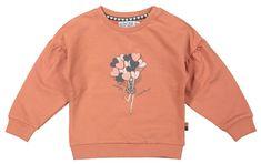 Dirkje lány pulóver léggömbökkel WD0304, 56, narancssárga