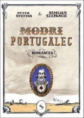 Peter Svetina: Modri Portugalec, trda vezava