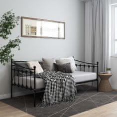 Vidaxl Rám rozkládací postele černý kovový 90 x 200 cm