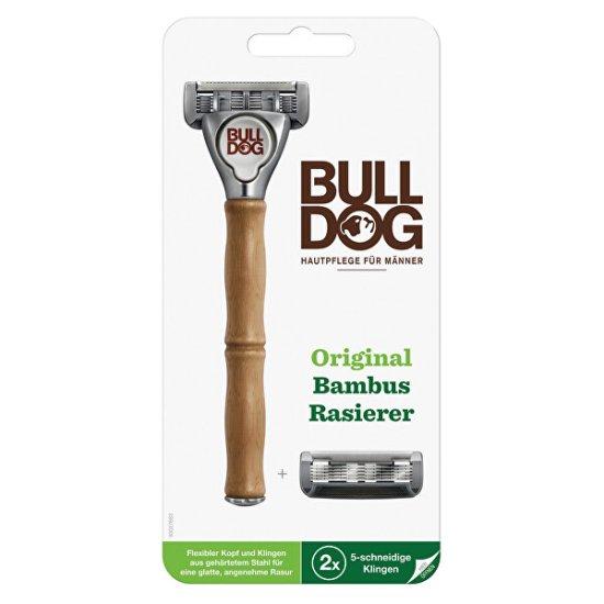 Bulldog Original Bamboo borotva + 2 tartalék fej