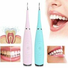 BEMI INVEST Ultrazvukový čistič zubů Barva: Světle růžová